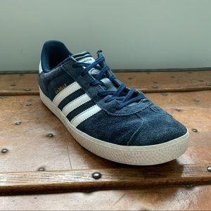 ADIDAS GAZELLE 2 Shoes Sneakers Big Kids 6.5 Blue